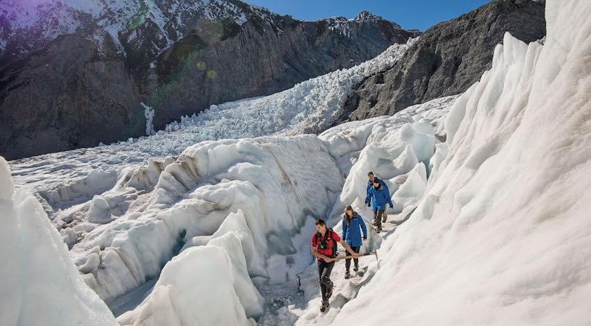 Fox Glacier and Franz Josef new zealand
