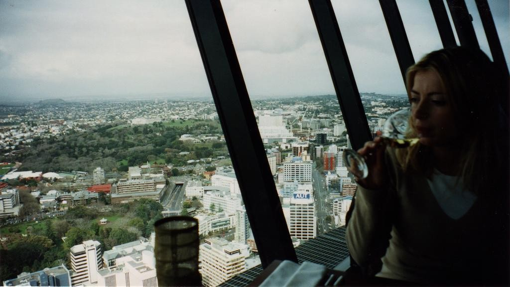 The Sky Tower new zealand