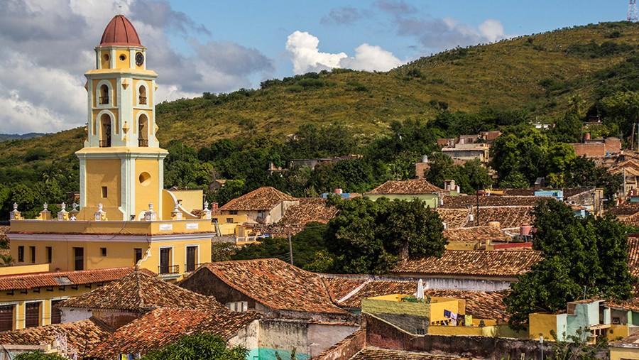 The Convento de San Francisco in Trinidad.