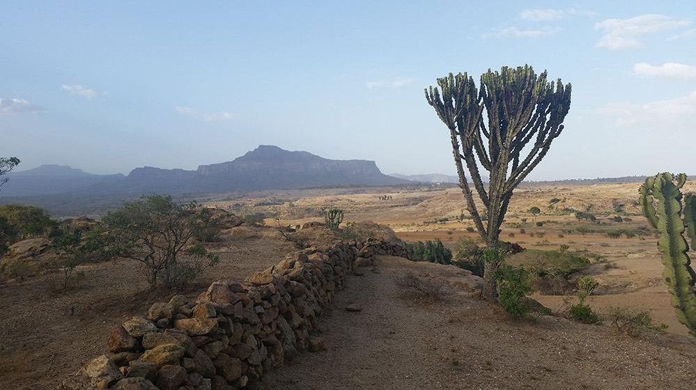 Gheralta Mountains in the Tigray Region ethiopia