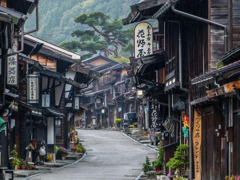 Nakasendo Walk amazing-places-japan