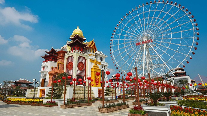 asia-park-clock tower danang destinations