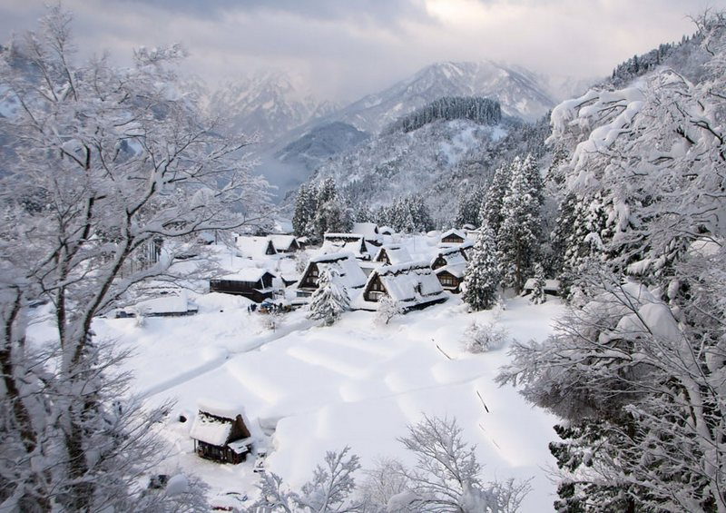 #8 Gokayama, Japan