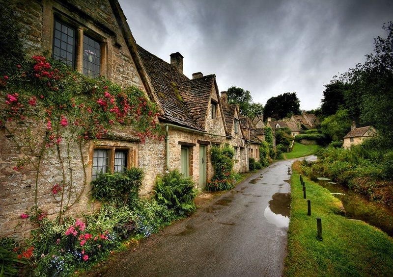bibury village uk
