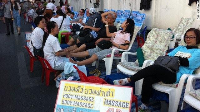 foot massage chiangmai thailand destinations