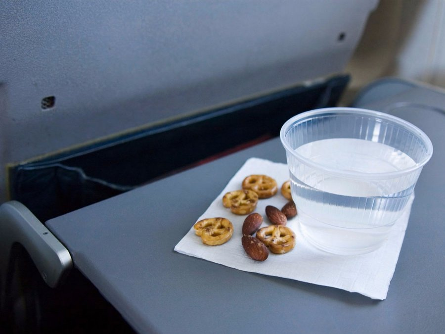 snack free things you can get on a flight travel tips 2