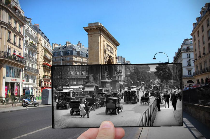 paris old and now history photos pictures 1