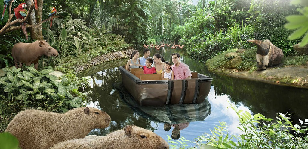 The first open zoo with river theme in Singapore