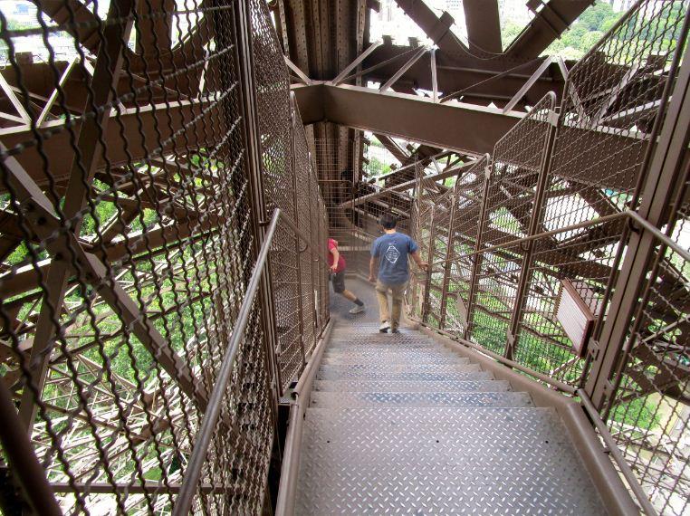 stairs eiffel tower paris 4
