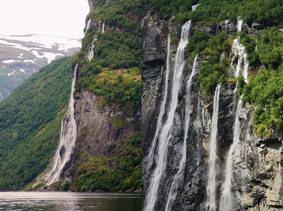 Hengjanefossen Waterfall