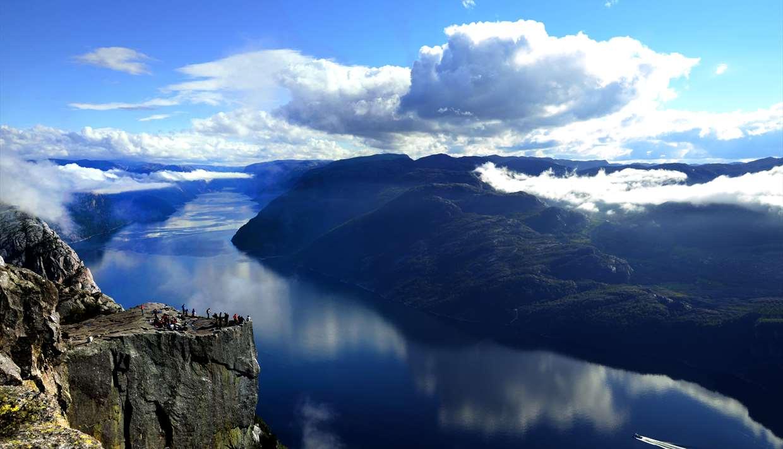 lysefjorden norway