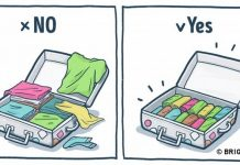 10 excellent tips for packing your holiday suitcase with illustrated 3