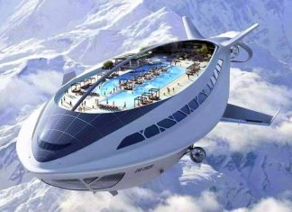 A perfect airliner for traveling