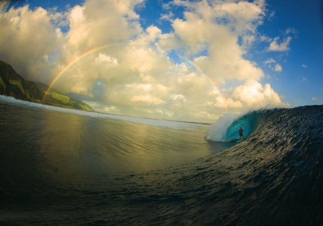 Winner of Surfer Magazine's «Photo of the Year» contest. Photographer — Zak Noyle