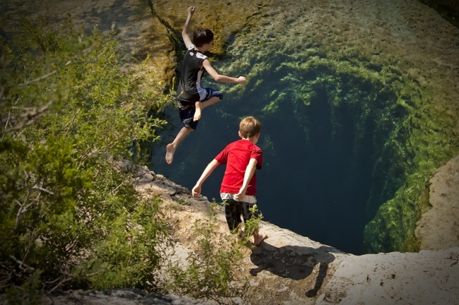 Jacob's well. Texas, USA.
