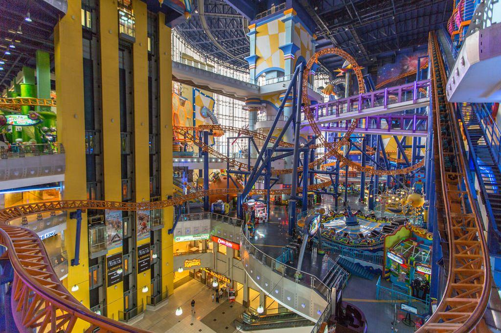 Berjaya Times Square Theme Park Kuala Lumpur tourist attraction map