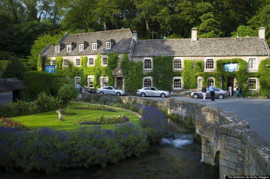 Bibury the most charming ancient village in england for Charming hotels of the world