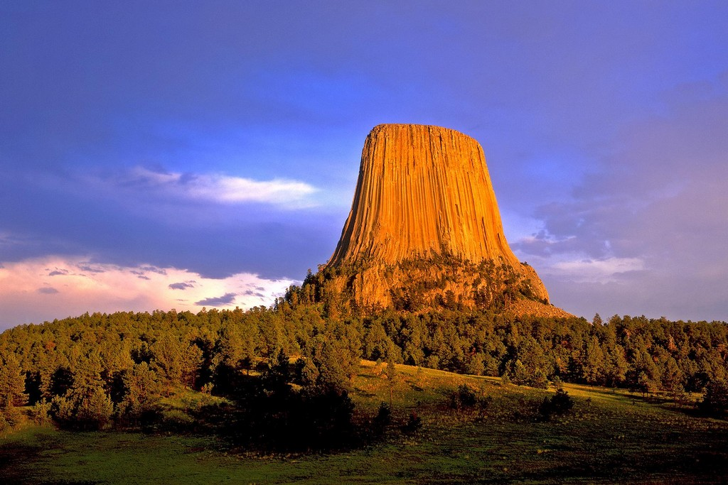 Devils Tower, US national park