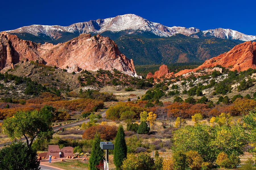 Garden of the Gods,US national park