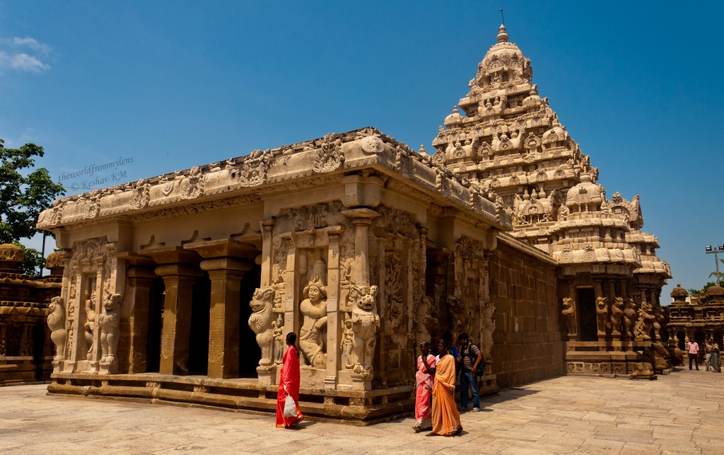 Kailasanathar Temple, Kanchipuram, Tamil Nadu, India