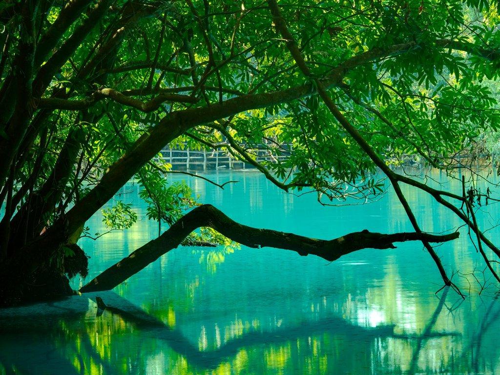 Khoun Kong Leng Lake of Laos