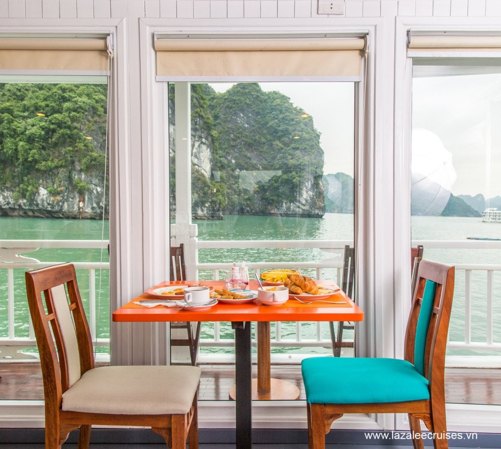 L'Azalée Cruise, luxury cruises, halong bay, vietnam