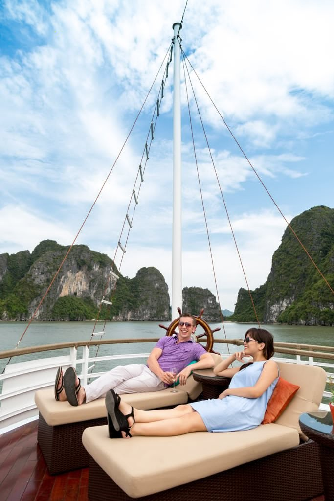 Lazalee cruise, Halong bay, vietnam