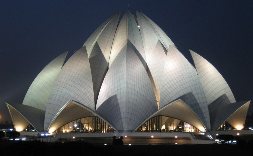Lotus Temple, Kalkaji, New Delhi, India