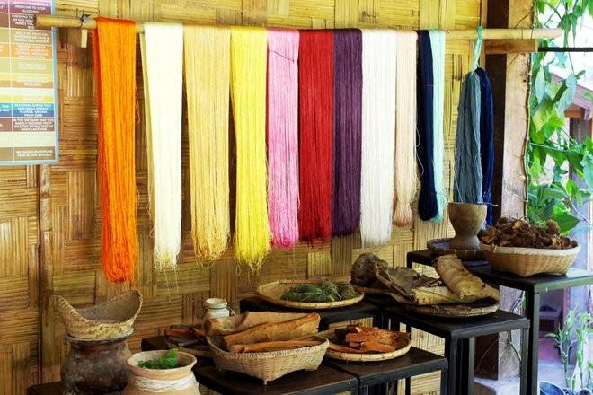 Ock Pop Tok, Lao textiles, Luang Prabang, Lao