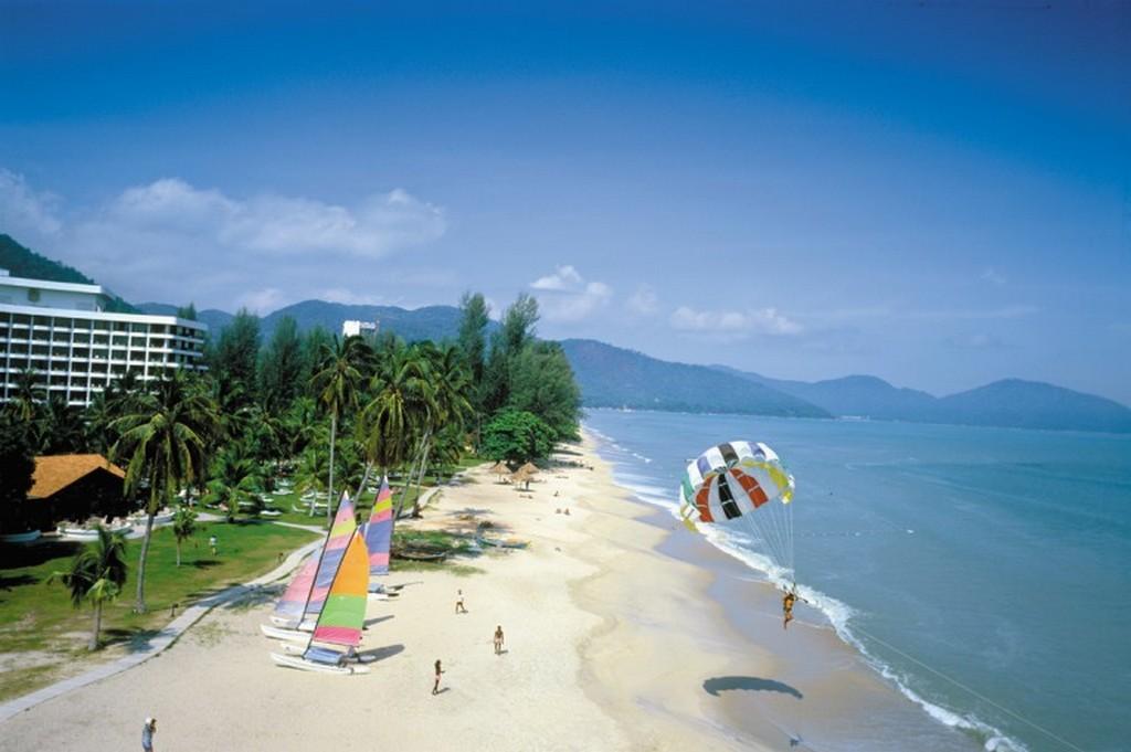 Batu Ferringhi beach, Penang, Malaysia