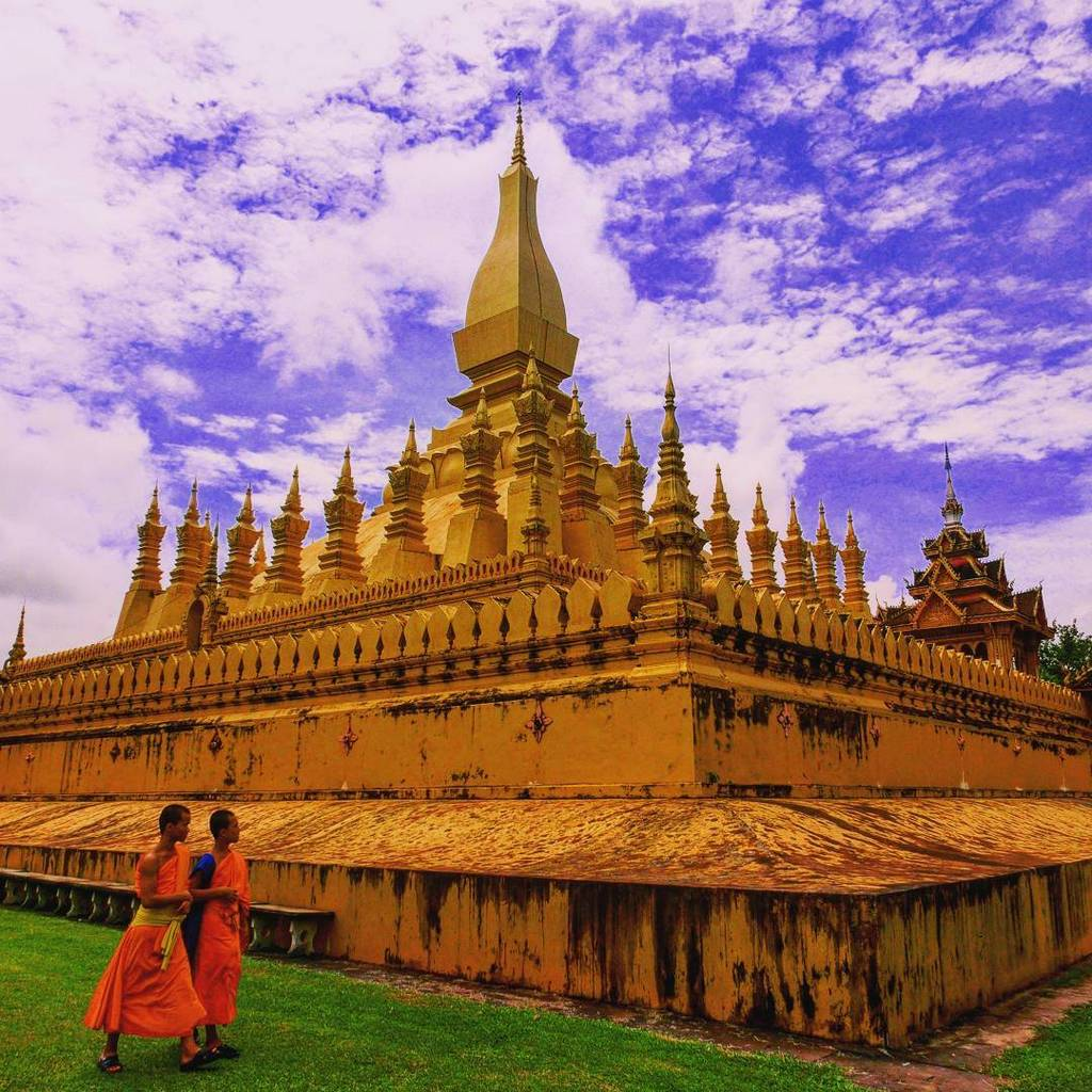 Pha That Luang of Laos
