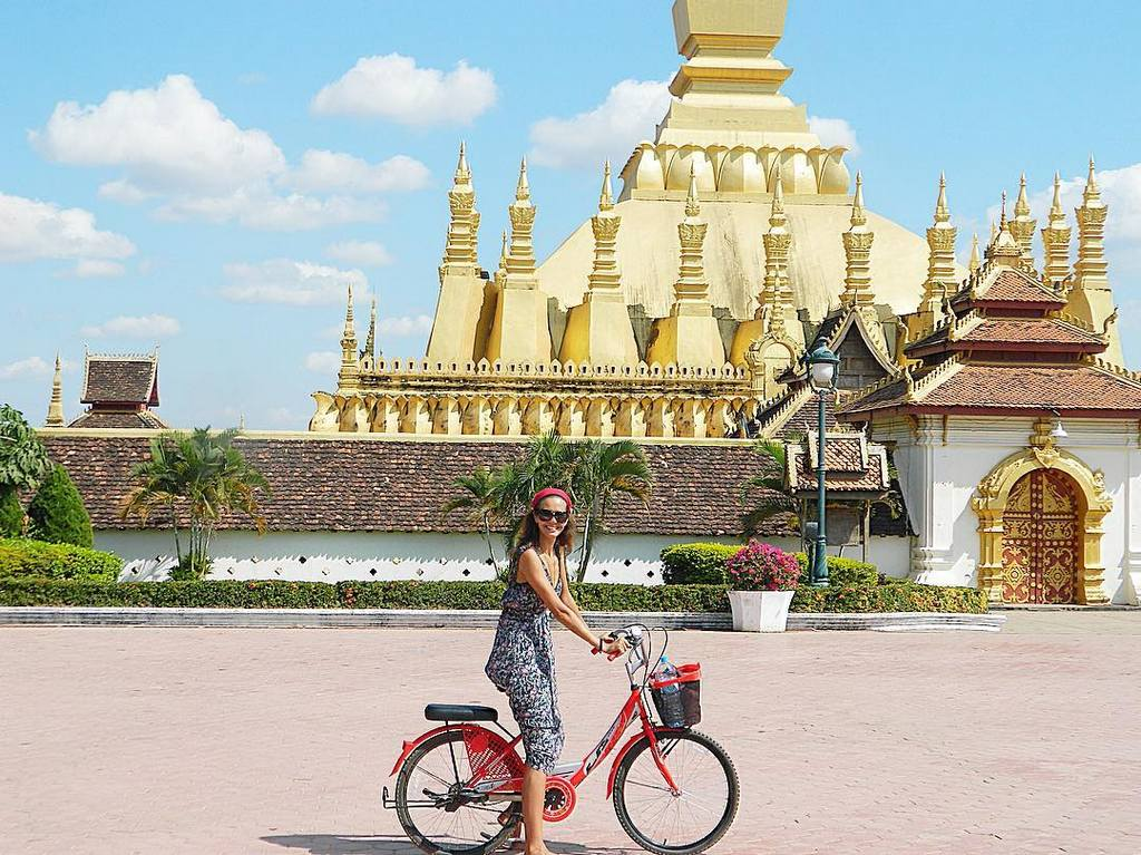 Pha That Luang. Laos tourist attractions
