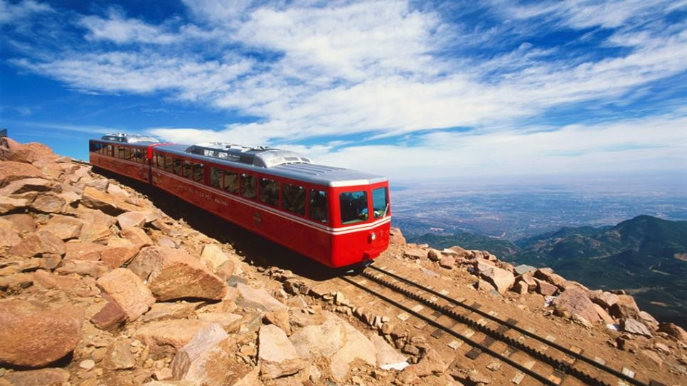 Pikes Peak Cog Railway, US national parks