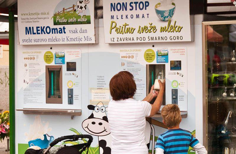 Raw Milk Vending Machines slovenia