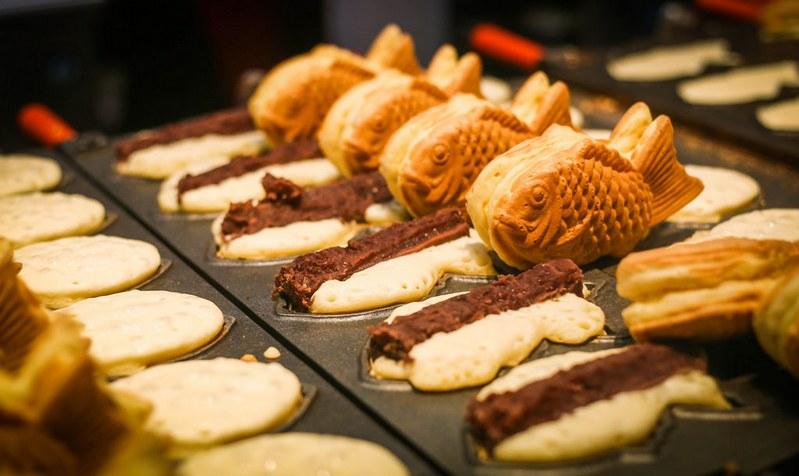 Taiyaki tokyo japanese snack