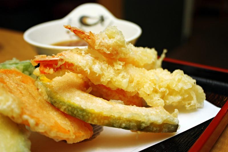 Tempura tokyo japanese snack