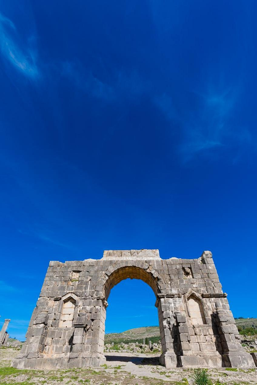 The Arch of Caracalla morocco