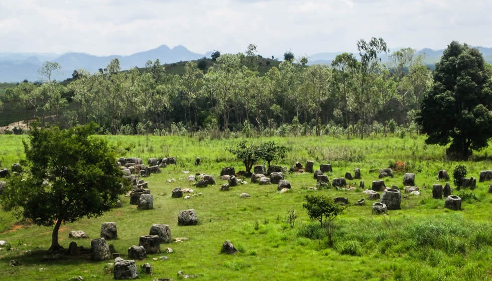The Plain of Jars of Laos tourist destinations