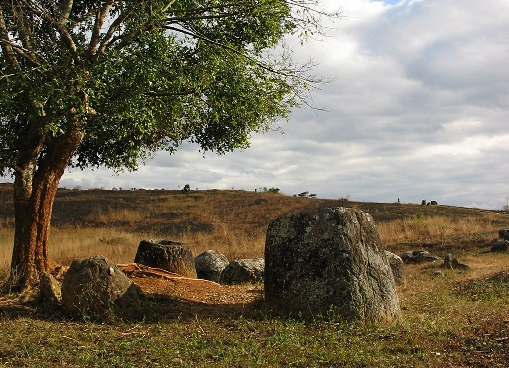 The Plain of Jars of Laos