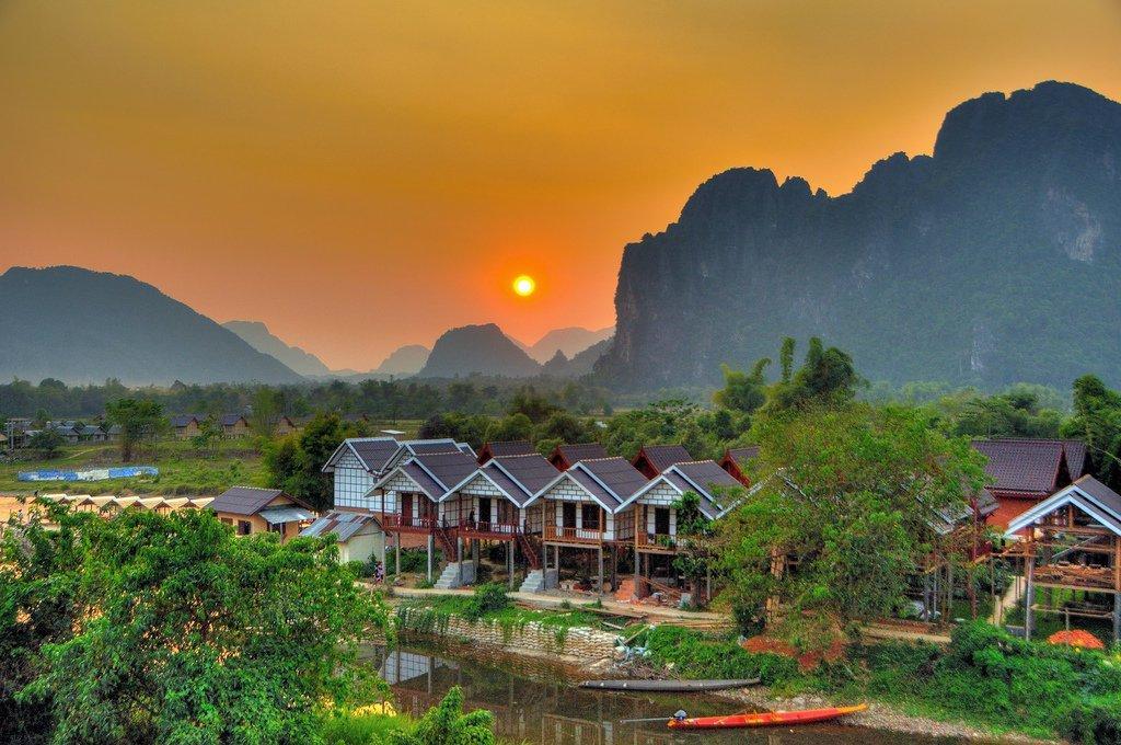 Vang Vieng of Laos