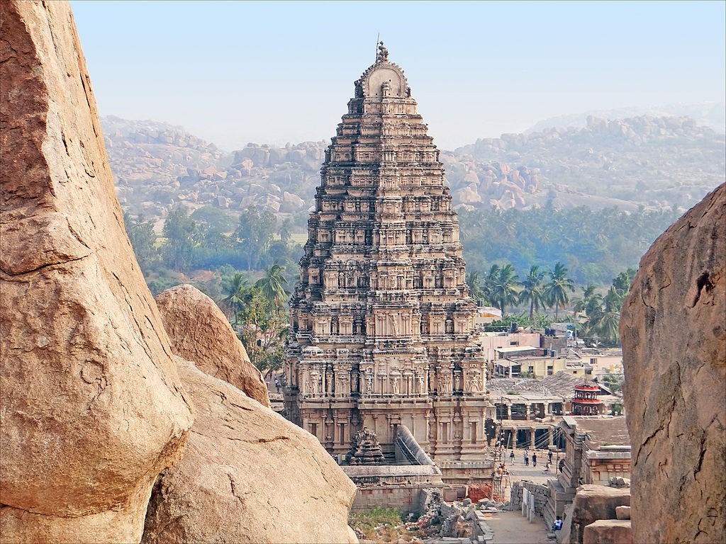 Virupaksha Temple, Hampi, Karnataka, India