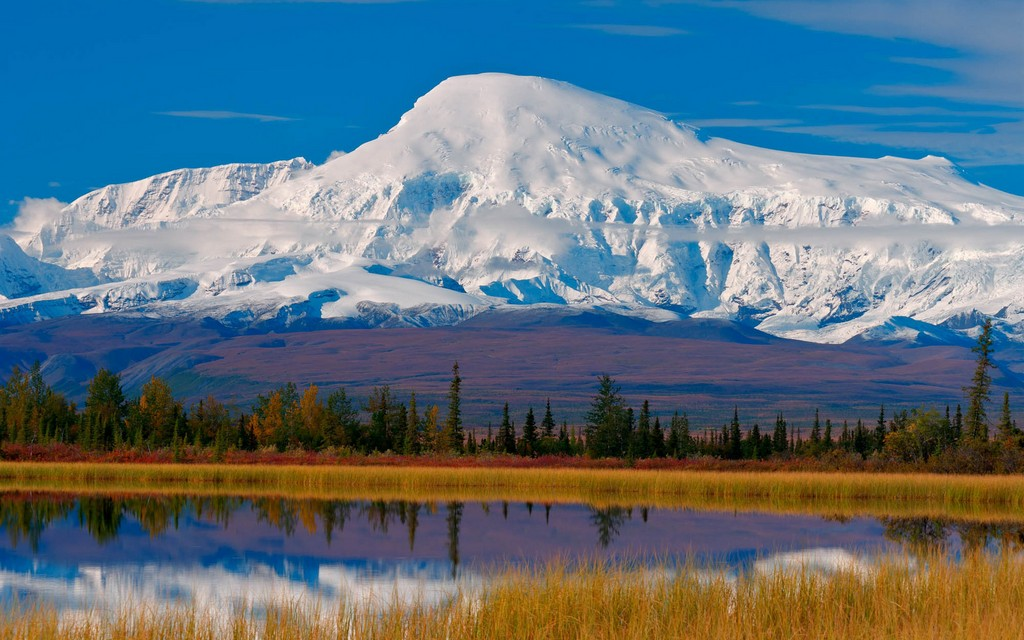 Wrangell-St Elias, US national park