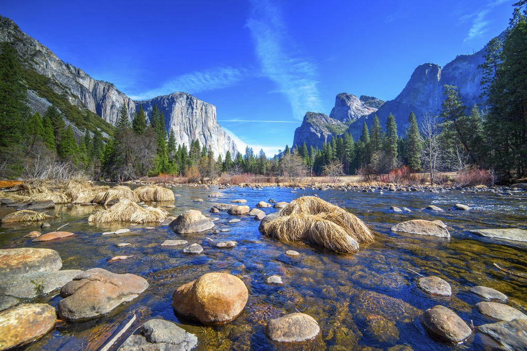 Yosemite, US national parks