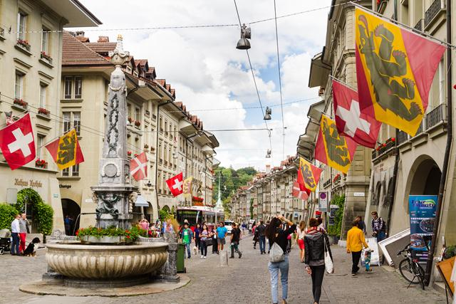 street bern switzerland guide
