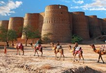 derawar fort in bahawalpur pakistan