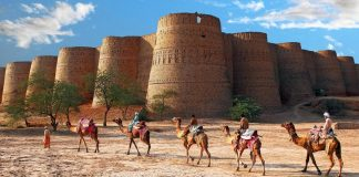 derawar fort in bahawalpur pakistan