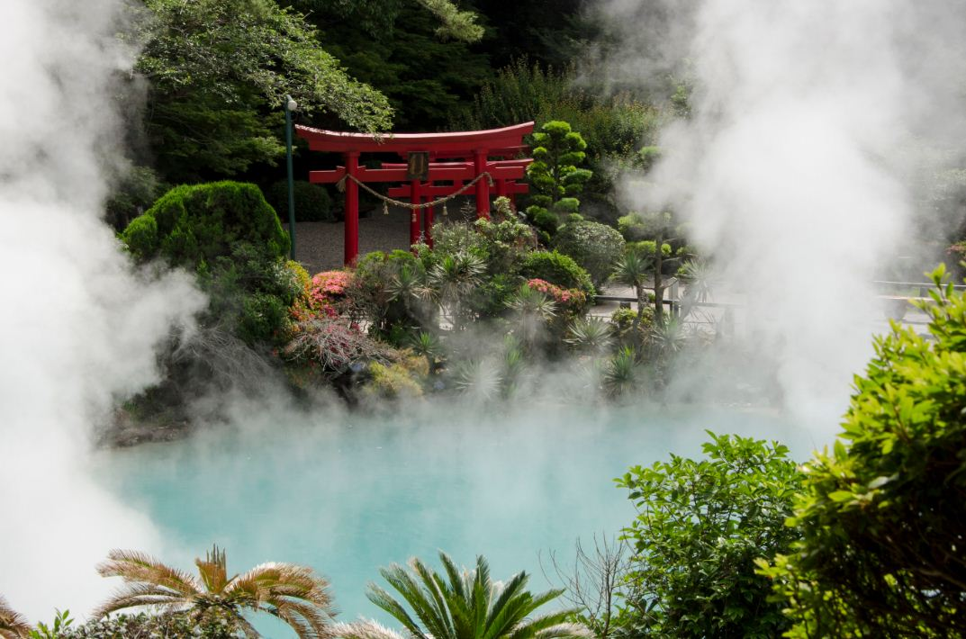 hot springs onsen beppy city japan
