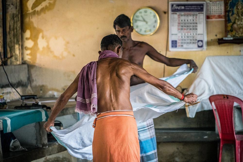 laundry, everyday life, Kerala, India