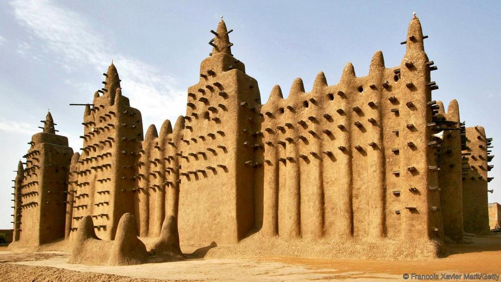 mali great mosque of djenne