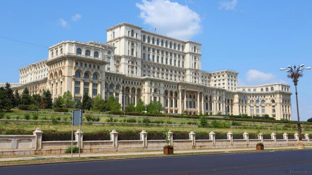 palace of the parliament in bucharest romania